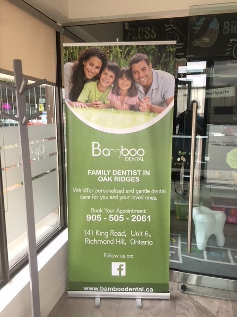 Bamboo Dental - Entrace